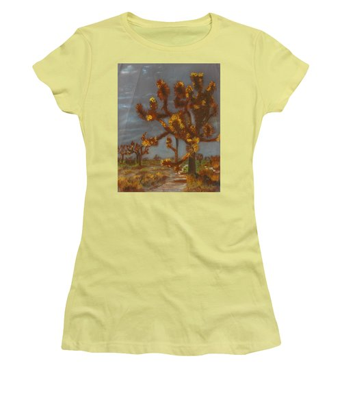 Dessert Trees Women's T-Shirt (Athletic Fit)