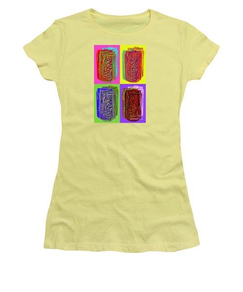 Diet Coke - Coca Cola Women's T-Shirt (Junior Cut) by Jean luc Comperat