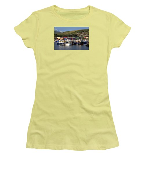 Dingle Harbour County Kerry Ireland Women's T-Shirt (Athletic Fit)