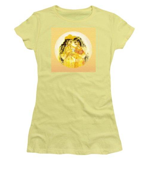 Divine Love - Detail Women's T-Shirt (Junior Cut) by Ananda Vdovic