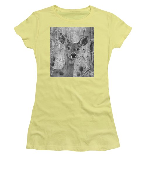 Doe Pretty Women's T-Shirt (Junior Cut)