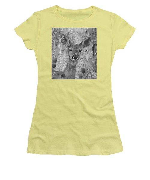 Doe Pretty Women's T-Shirt (Athletic Fit)