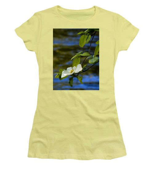 Dogwood On The Merced Women's T-Shirt (Athletic Fit)