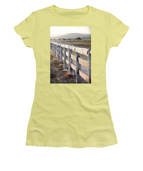 Don't Fence Me In Women's T-Shirt (Junior Cut) by Holly Kempe