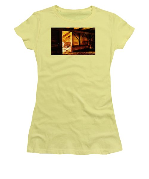 Doorway To The Past Women's T-Shirt (Athletic Fit)