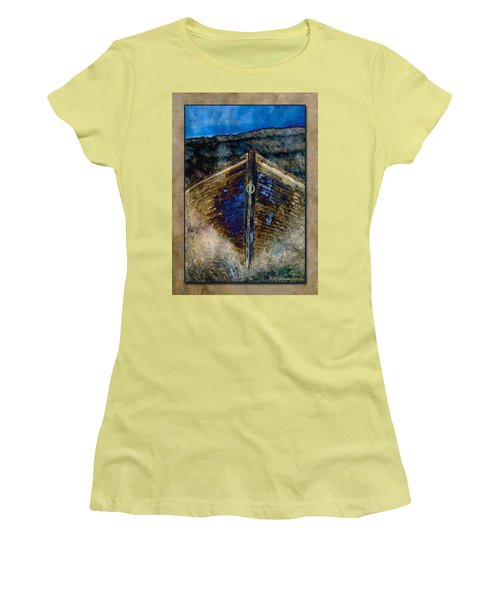 Women's T-Shirt (Junior Cut) featuring the photograph Dory by WB Johnston