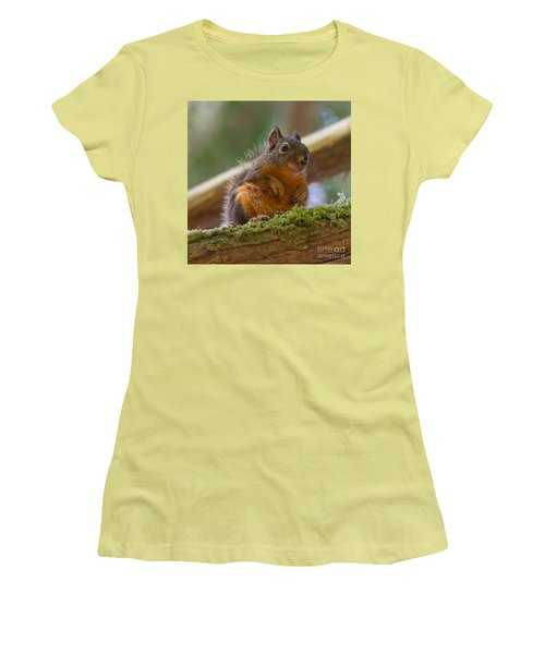 Douglas Squirrel Women's T-Shirt (Athletic Fit)