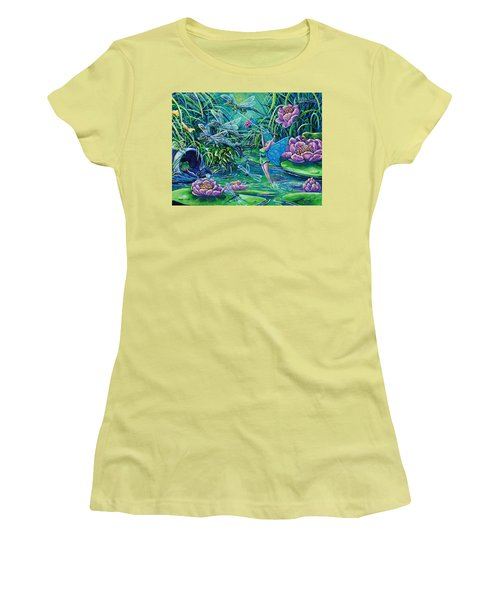Dragonflies Women's T-Shirt (Athletic Fit)