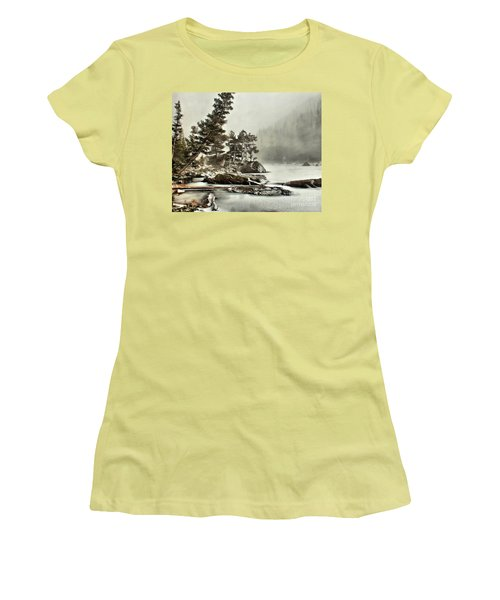 Dream Blizzard Women's T-Shirt (Athletic Fit)