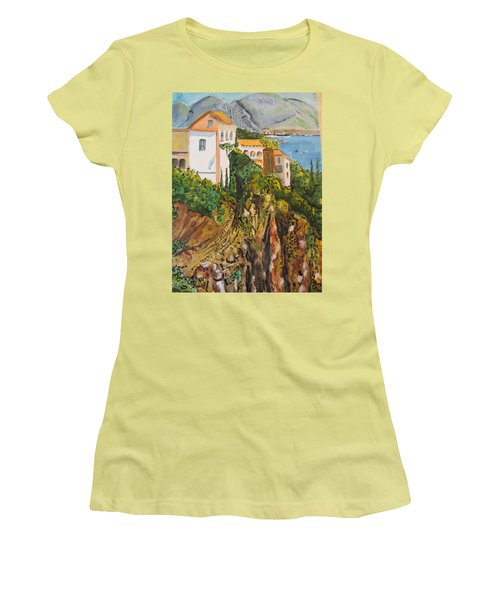 Dream Vacation Women's T-Shirt (Athletic Fit)