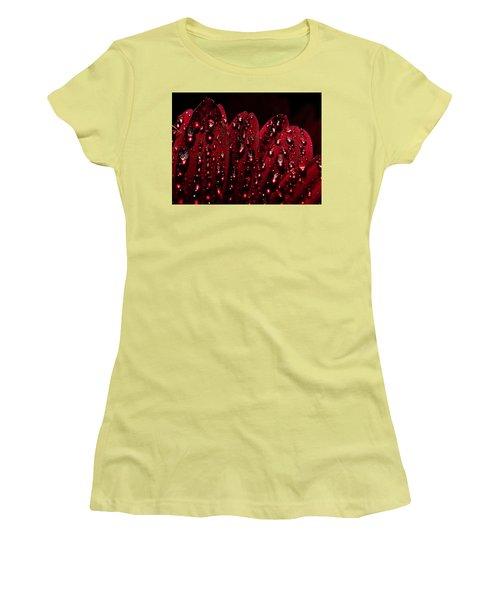 Due To The Dew Women's T-Shirt (Junior Cut) by Joe Schofield