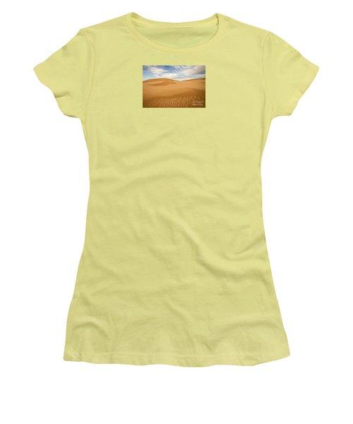 Dunescape Women's T-Shirt (Athletic Fit)