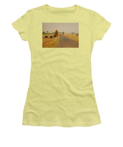 Dungog Area Nsw Australia Women's T-Shirt (Junior Cut) by Tim Mullaney