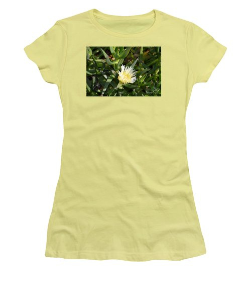 Women's T-Shirt (Athletic Fit) featuring the photograph Earth Music by Laurie L