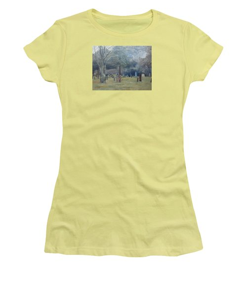 East End Cemetery Amagansett Women's T-Shirt (Athletic Fit)