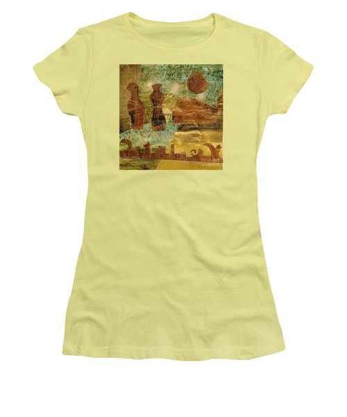 Eastern Motif Women's T-Shirt (Junior Cut) by Patricia Cleasby