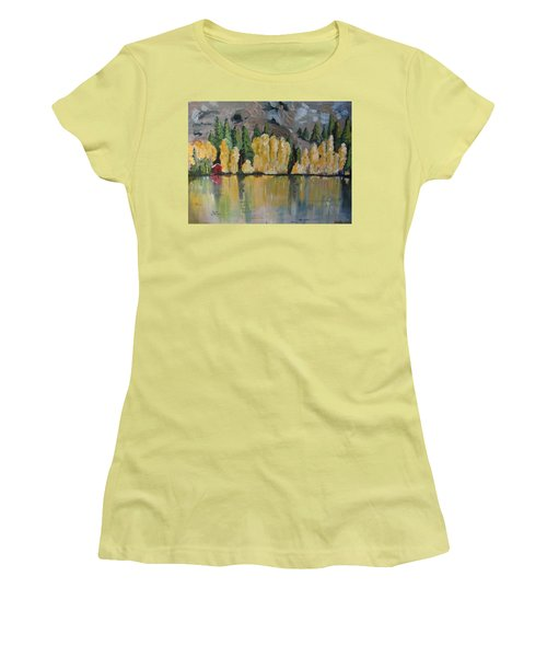 Eastern Sierra Reflections Women's T-Shirt (Athletic Fit)