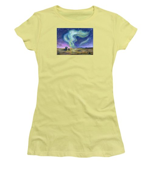 Echoes In The Sky Women's T-Shirt (Athletic Fit)