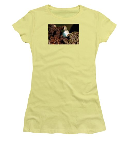 Women's T-Shirt (Junior Cut) featuring the photograph Eggs Of Nature 1 by David Lester