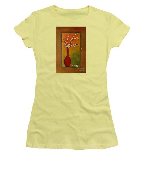 Elegant Bouquet Women's T-Shirt (Athletic Fit)