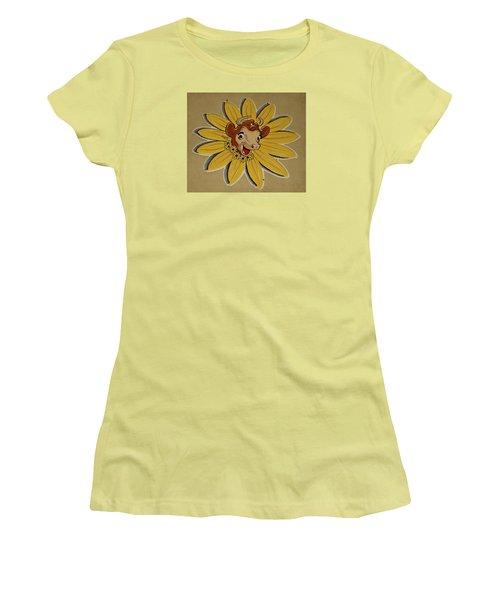 Elsie The Borden Cow  Women's T-Shirt (Junior Cut) by Chris Berry