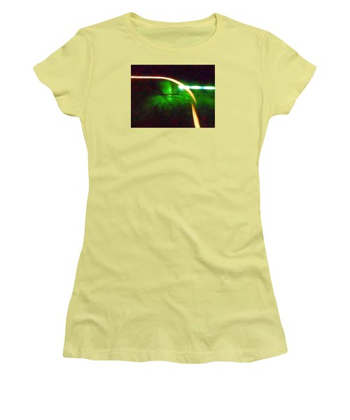 Emerald Fusion Women's T-Shirt (Athletic Fit)