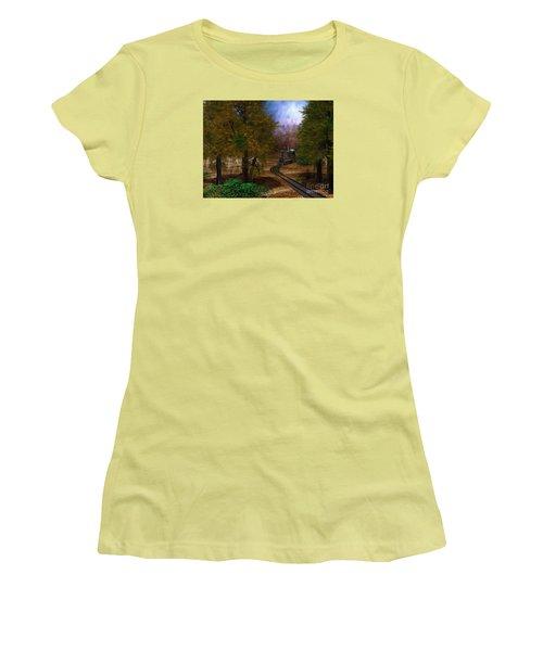 Emergence Women's T-Shirt (Junior Cut) by Shari Nees