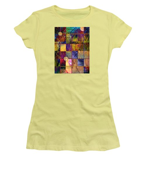 Emotive Tapestry Women's T-Shirt (Junior Cut) by Allison Ashton