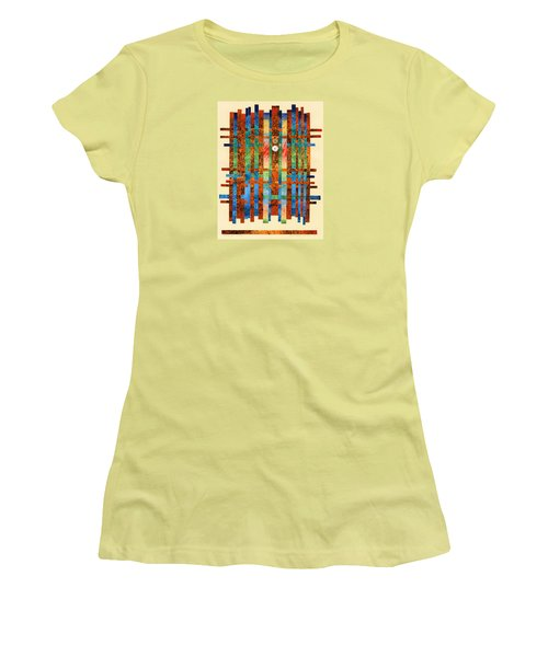 Entering The Temple Women's T-Shirt (Athletic Fit)