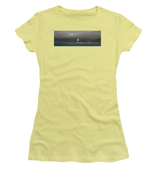 Entrance To Macquarie Harbour - Tasmania Women's T-Shirt (Junior Cut) by Tim Mullaney