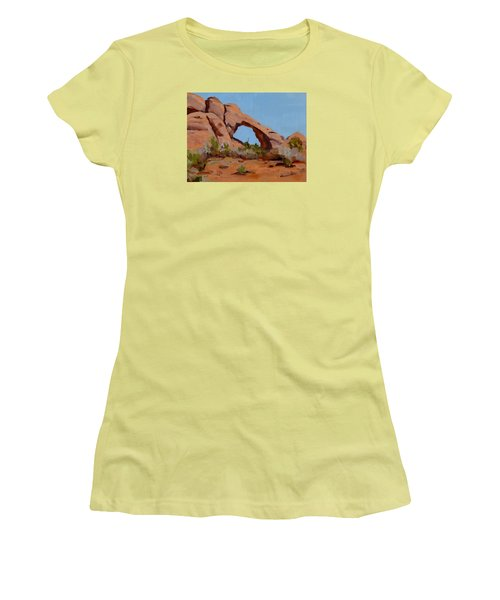 Erosion Women's T-Shirt (Junior Cut) by Pattie Wall