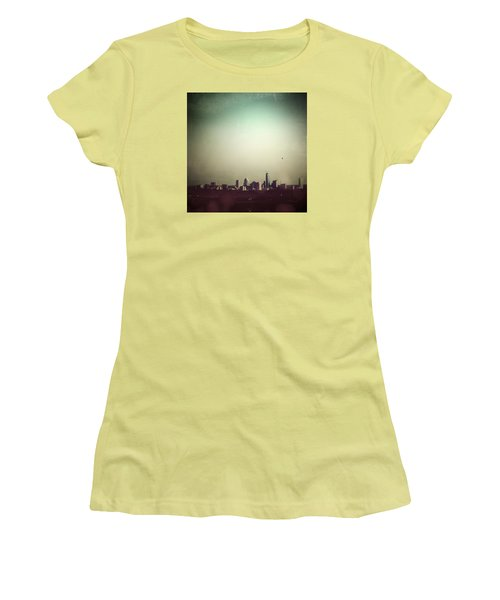 Escaping The City Women's T-Shirt (Junior Cut) by Trish Mistric