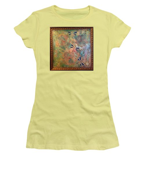 Eternal Sun By Alfredo Garcia  Women's T-Shirt (Athletic Fit)