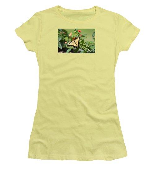 Evening Beauty Women's T-Shirt (Junior Cut) by Debbie Green