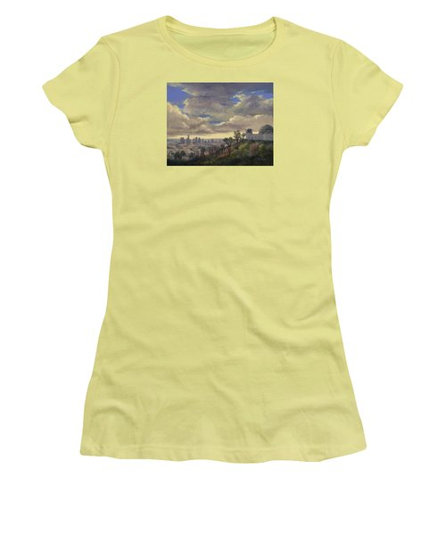 Expecting Rain Women's T-Shirt (Junior Cut) by Jane Thorpe