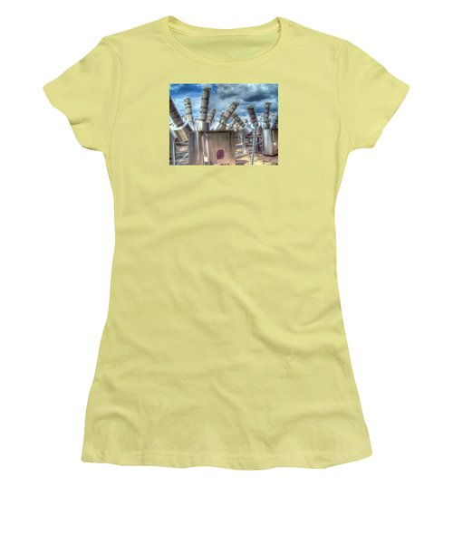 Women's T-Shirt (Junior Cut) featuring the photograph Exterminate - Exterminate by MJ Olsen