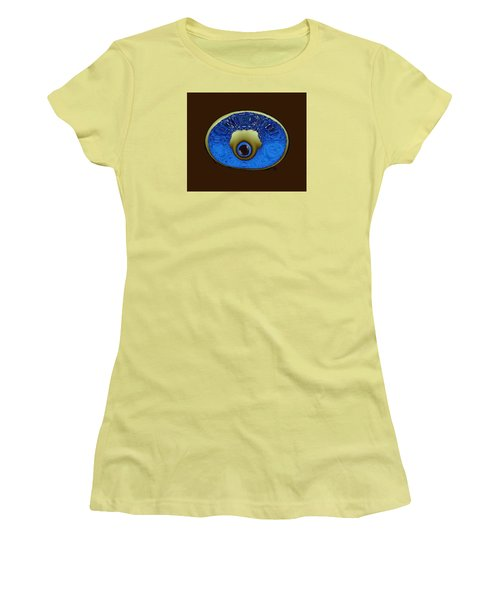 Eye Pod Women's T-Shirt (Junior Cut) by Kevin Caudill