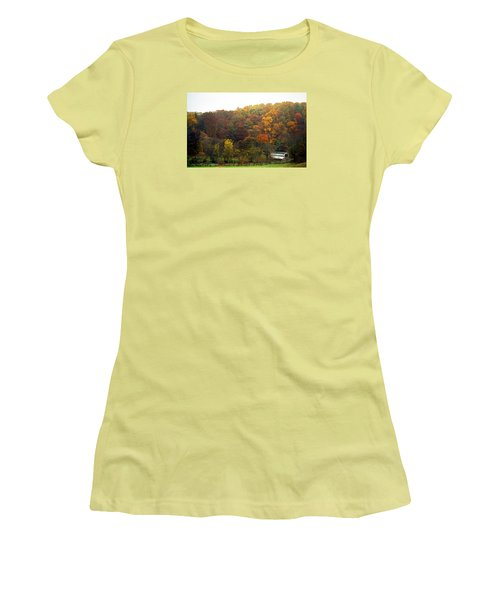Fall At Valley Forge Women's T-Shirt (Athletic Fit)