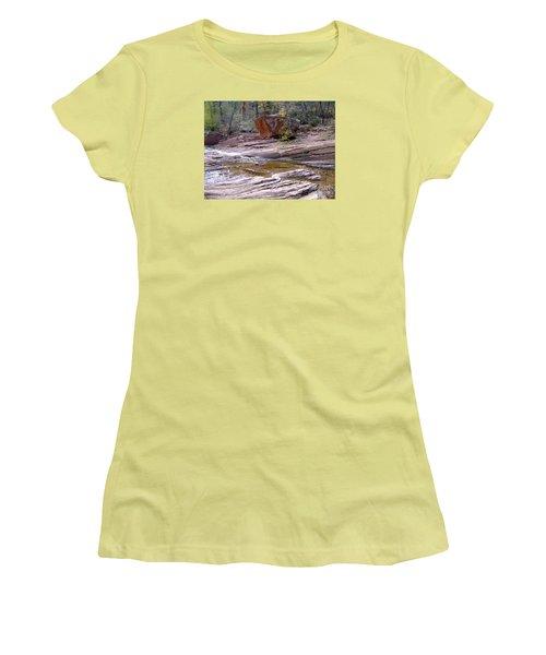Fall Color 6419 Women's T-Shirt (Junior Cut) by En-Chuen Soo
