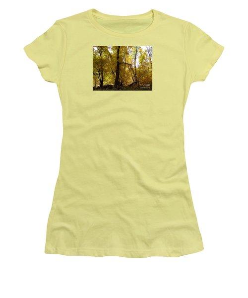 Fall Colors 6169 Women's T-Shirt (Junior Cut) by En-Chuen Soo