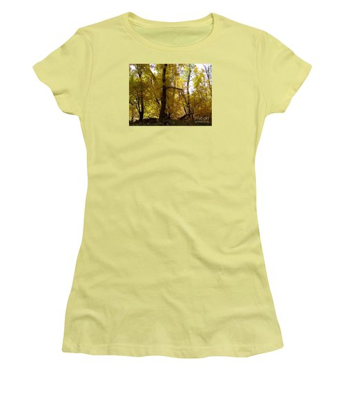 Fall Colors 6169 Women's T-Shirt (Athletic Fit)