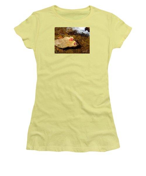 Fall Colors 6348 Women's T-Shirt (Junior Cut) by En-Chuen Soo