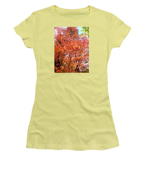 Fall Colors 6357 Women's T-Shirt (Junior Cut) by En-Chuen Soo
