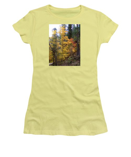 Fall Colors 6368 Women's T-Shirt (Athletic Fit)