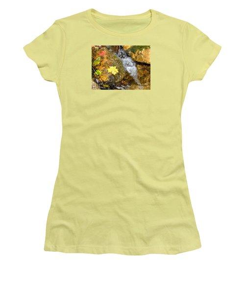 Fall Colors 6389 Women's T-Shirt (Junior Cut) by En-Chuen Soo