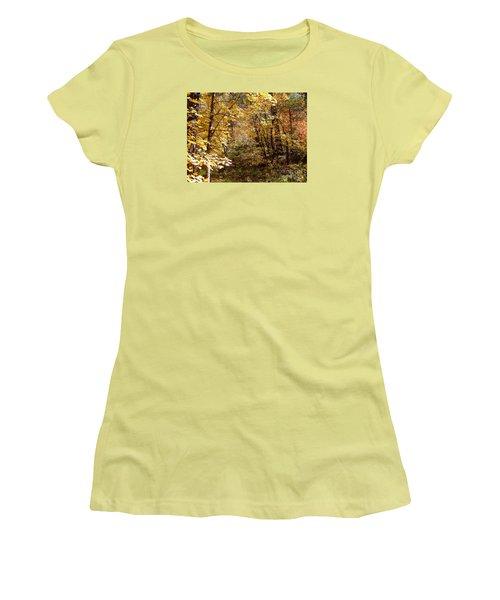 Fall Colors 6405 Women's T-Shirt (Junior Cut) by En-Chuen Soo