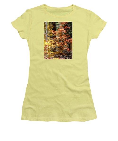 Fall Colors 6412 Women's T-Shirt (Junior Cut) by En-Chuen Soo