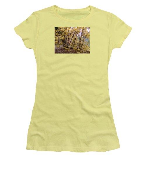Fall Colors 6435 Women's T-Shirt (Junior Cut) by En-Chuen Soo