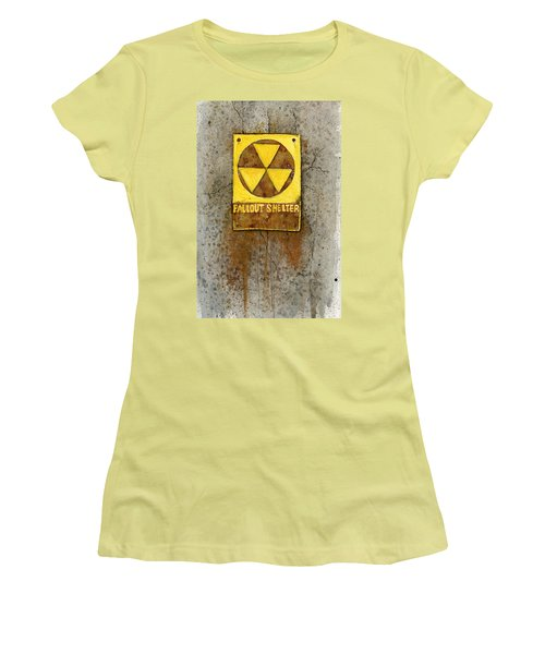 Fallout Shelter #1 Women's T-Shirt (Athletic Fit)