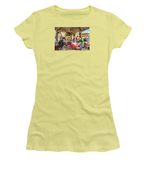 Fiesole Al Fresco Women's T-Shirt (Junior Cut) by Liz Leyden